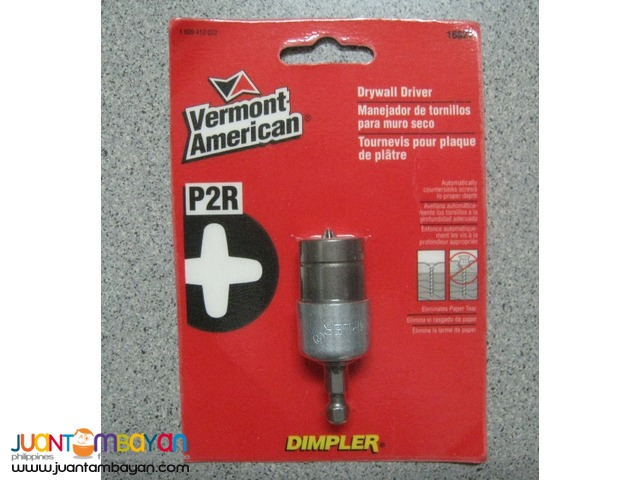 Vermont American 16627 Magnetic Dimpler Drywall Screw Setter