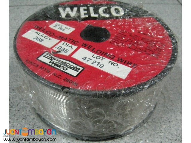 Welco AWS308 2-lb Stainless Mig Wire Spool