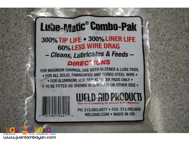 Weld Aid Lube-Matic Combo Pak - for MIG Welders