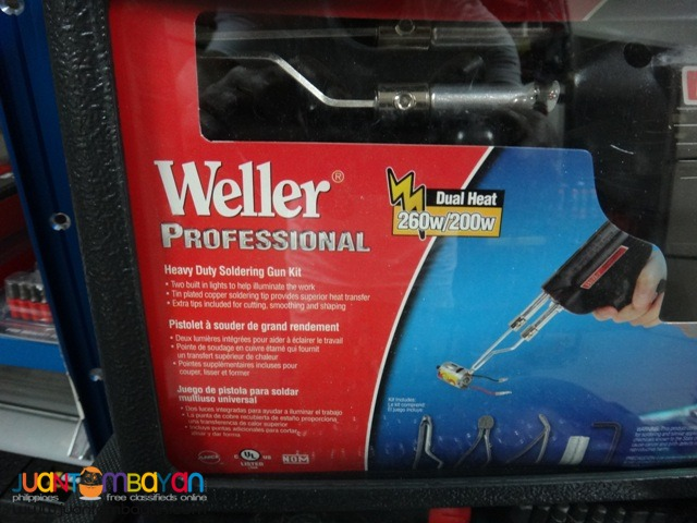 Weller Professional 260W or 200W Soldering Gun Kit D550PK - 110V