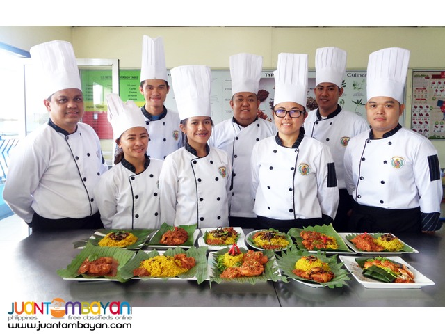 6 Months Culinary Arts TESDA Registered Short Course in Bacoor Cavite