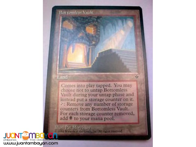 Bottomless Vault (Magic the Gathering Trading Card Game)