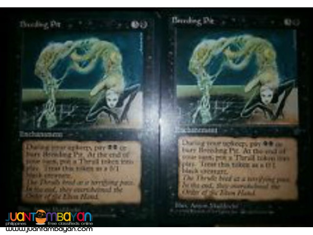 Breeding Pit (Magic the Gathering Trading Card Game)