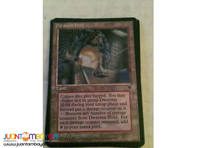 Dwarven Hold (Magic the Gathering Trading Card Game)
