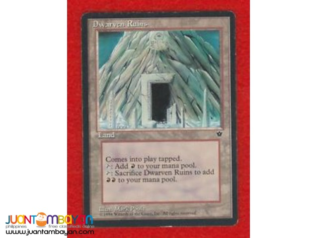 Dwarven Ruins (Magic the Gathering Trading Card Game)