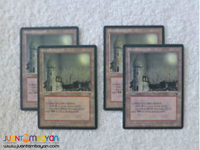 Ebon Stronghold (Magic the Gathering Trading Card Game)