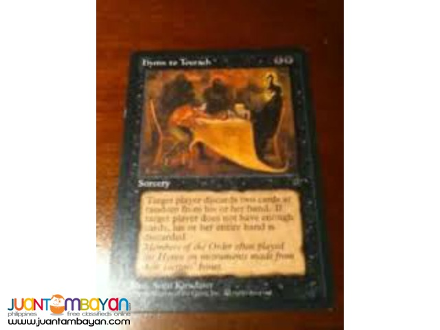 Hymn to Tourach (Magic the Gathering Trading Card Game)