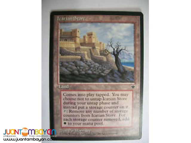 Icatian Store (Magic the Gathering Trading Card Game)