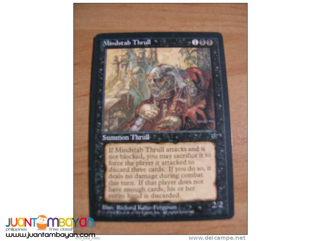 Mindstab Thrull (Magic the Gathering Trading Card Game)