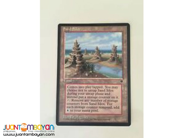 Sand Silos (Magic the Gathering Trading Card Game)