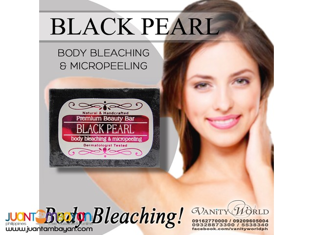 BLEACHING BLACK PEARL SOAP Body Bleaching and Micropeeling