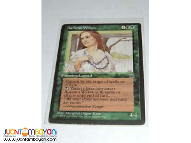 Autumn Willow (Magic the Gathering Trading Card Game)