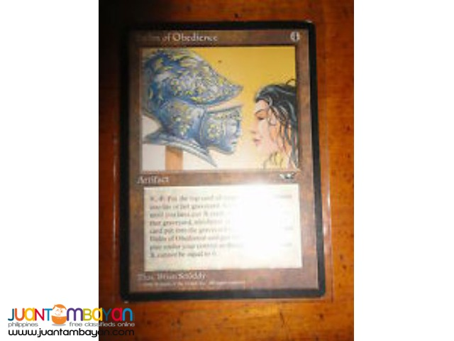 Helm of Obedience (Magic the Gathering Trading Card Game)