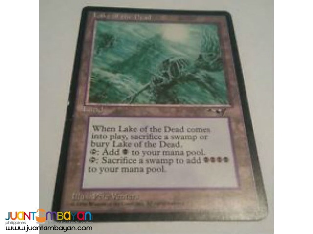 Lake of the Dead (Magic the Gathering Trading Card Game)