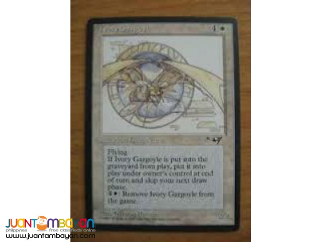 Ivory Gargoyle (Magic the Gathering Trading Card Game)