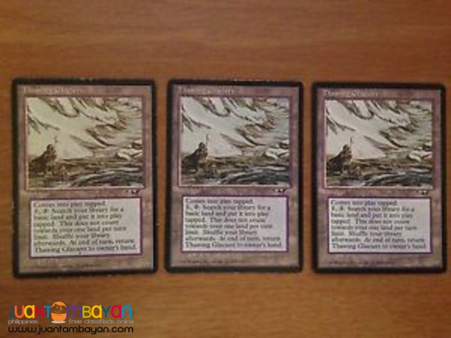Thawing Glaciers (Magic the Gathering Trading Card Game)