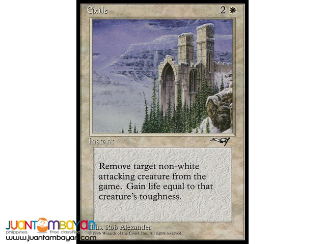Exile (Magic the Gathering Trading Card Game)
