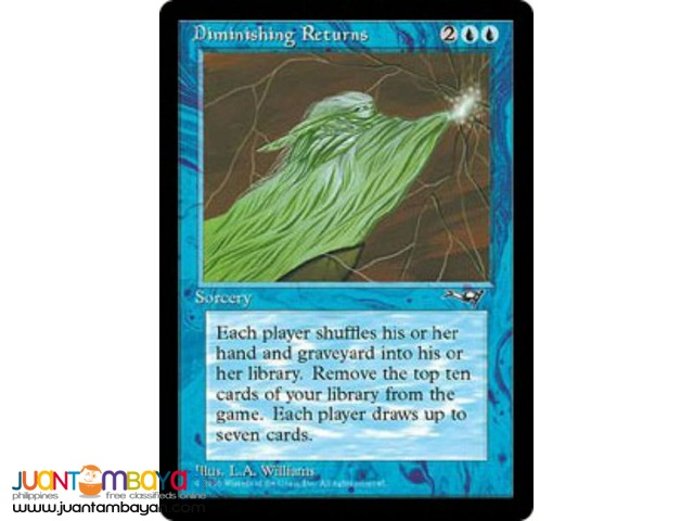 Diminishing Returns (Magic the Gathering Trading Card Game)