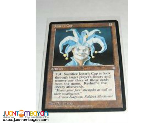 Jester's Cap (Magic the Gathering Trading Card Game)