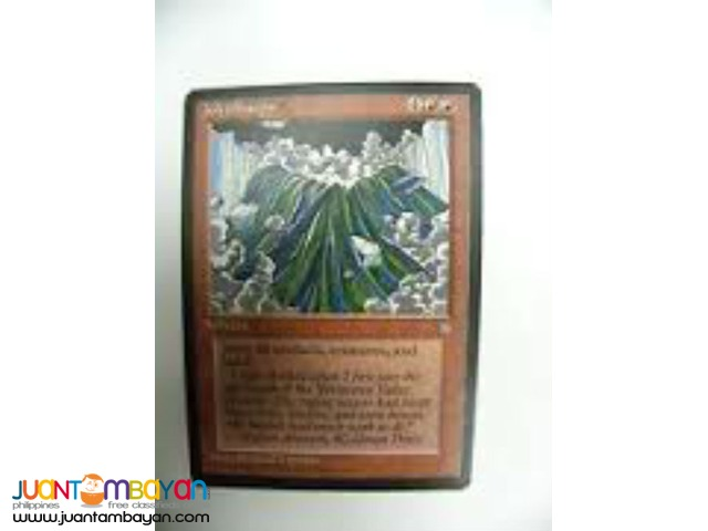 Jokulhaups (Magic the Gathering Trading Card Game)