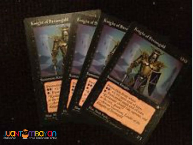 Knight of Stromgald (Magic the Gathering Trading Card Game)