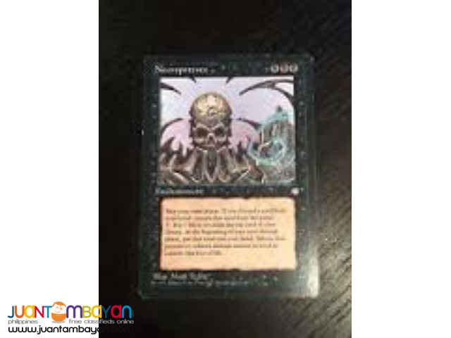 Necropotence (Magic the Gathering Trading Card Game)
