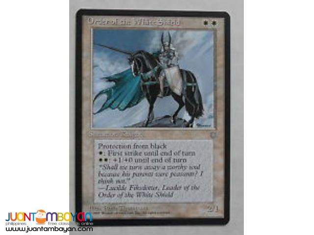 Order of the White Shield (Magic the Gathering Trading Card Game)