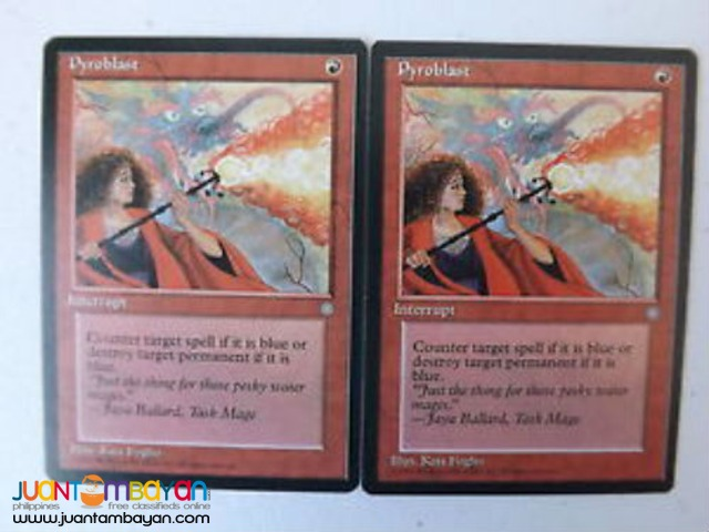 Pyroblast (Magic the Gathering Trading Card Game)
