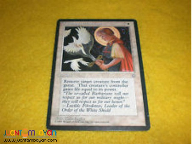 Swords to Plowshares (Magic the Gathering Trading Card Game)