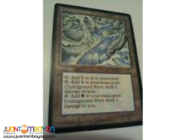 Underground River (Magic the Gathering Trading Card Game)