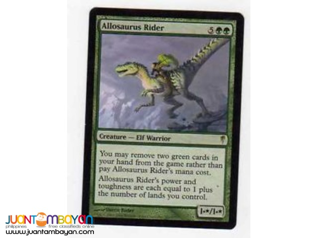 Allosaurus Rider (Magic the Gathering Trading Card Game)