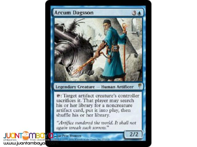 Arcum Dagsson (Magic the Gathering Trading Card Game)
