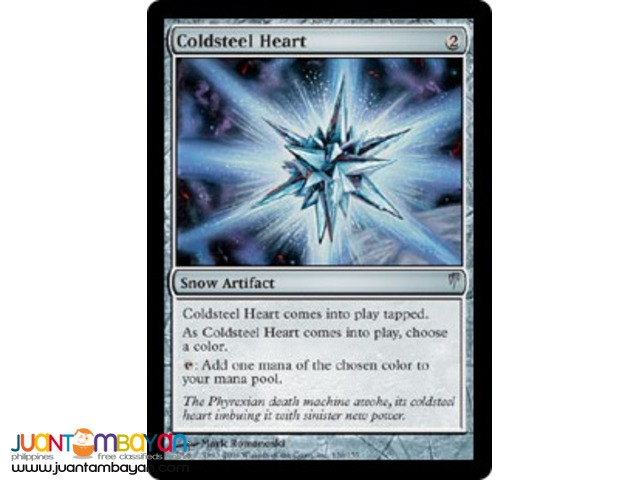Coldsteel Heart (Magic the Gathering Trading Card Game)