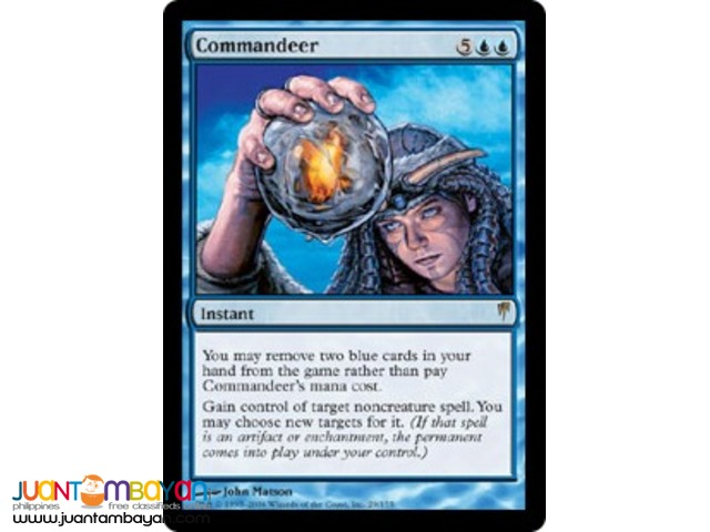 Commandeer (Magic the Gathering Trading Card Game)
