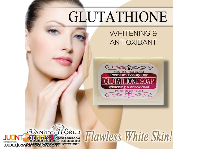 GLUTATHIONE SOAP Whitening and Antioxidant