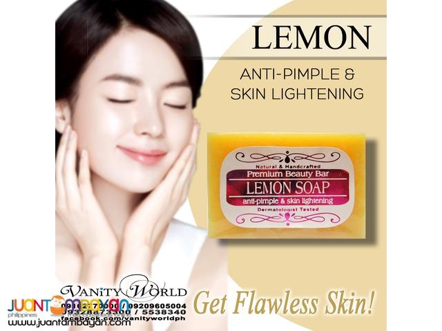 LEMON SOAP Anti-pimple and Skin Lightening