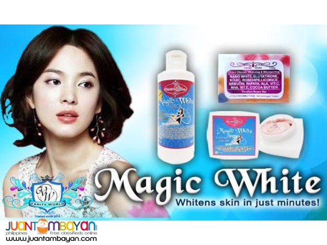MAGIC WHITE ULTIMATE WHITENING SYSTEM SET
