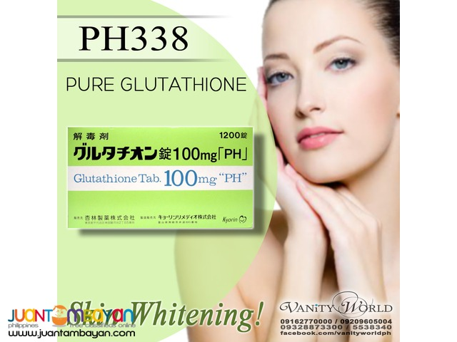PH338 100MG JAPAN PREMIUM GLUTATHIONE