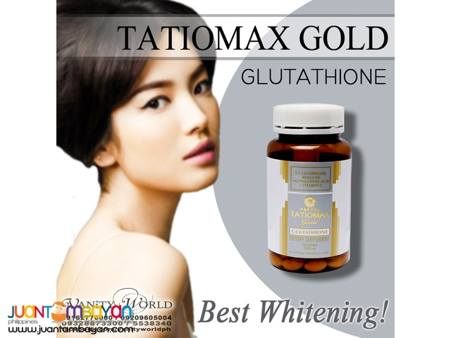TATIOMAX GOLD ORAL 1200MG Glutathione from Japan