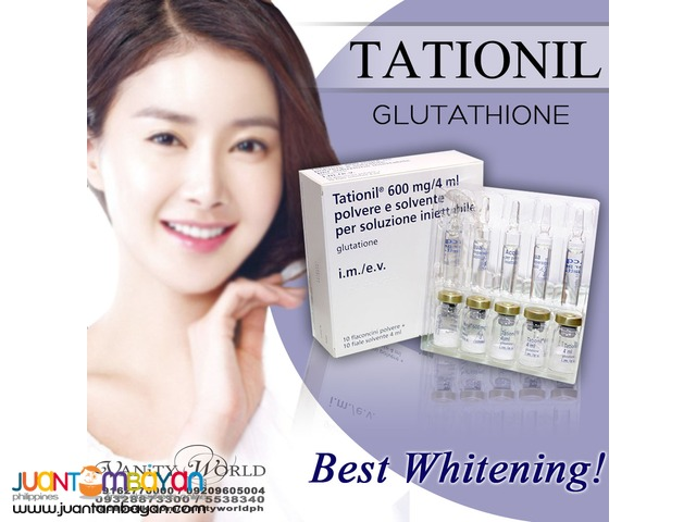 TATIONIL 600mg Glutathione from Italy