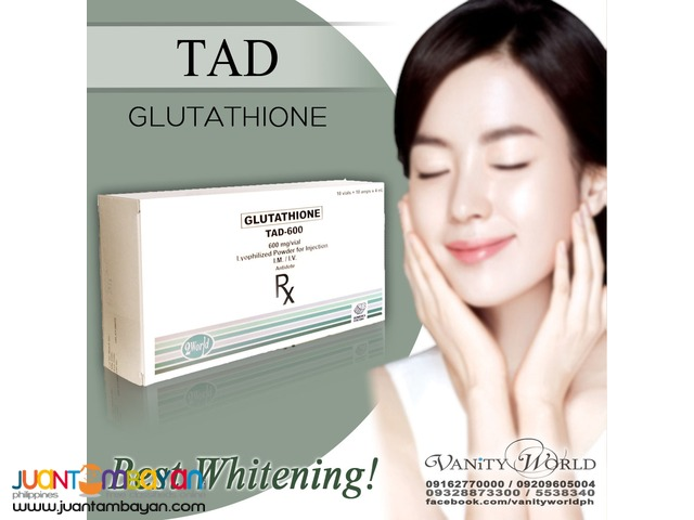 TAD 600mg Glutathione from Italy