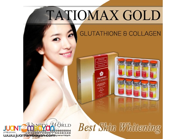 TATIOMAX GOLD IV from Japan 1200mg Glutathione