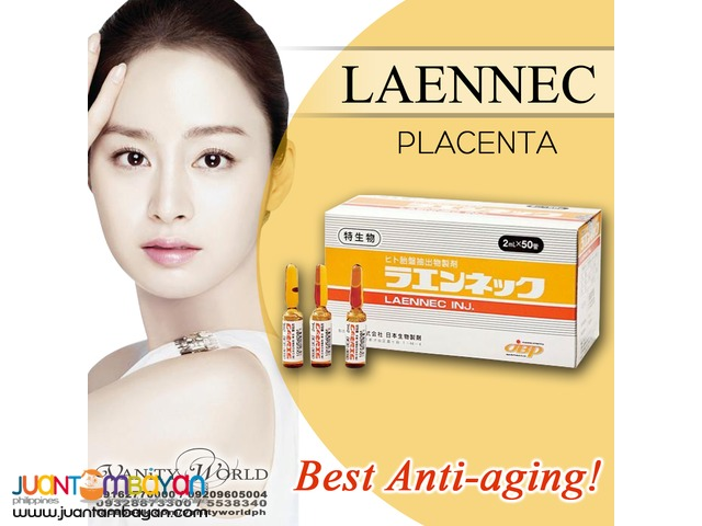 LAENNEC PLACENTA Best Anti Aging from Japan