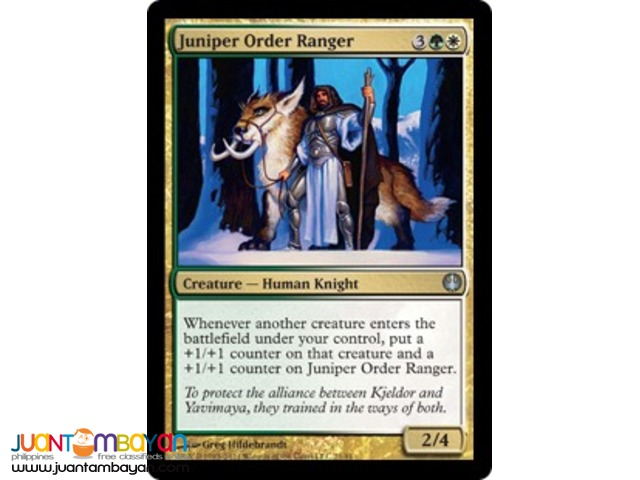 Juniper Order Advocate (Magic the Gathering Trading Card Game)
