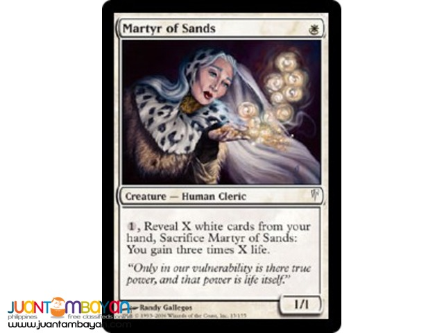 Martyr of Sands (Magic the Gathering Trading Card Game)