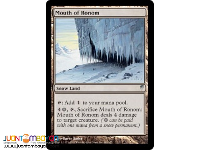 Mouth of Ronom (Magic the Gathering Trading Card Game)