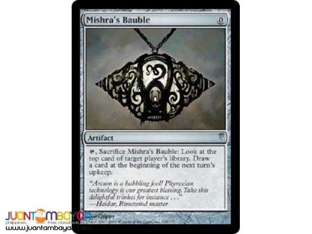 Mishra's Bauble (Magic the Gathering Trading Card Game)
