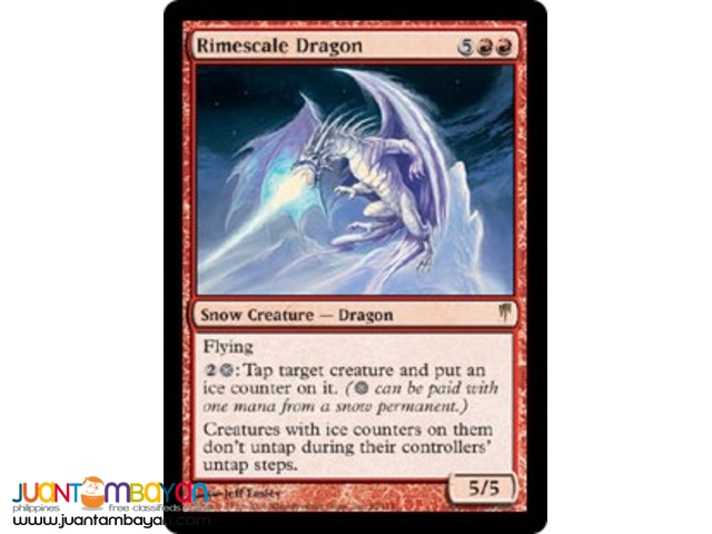 Rimescale Dragon (Magic the Gathering Trading Card Game)