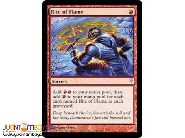 Rite of Flame (Magic the Gathering Trading Card Game)