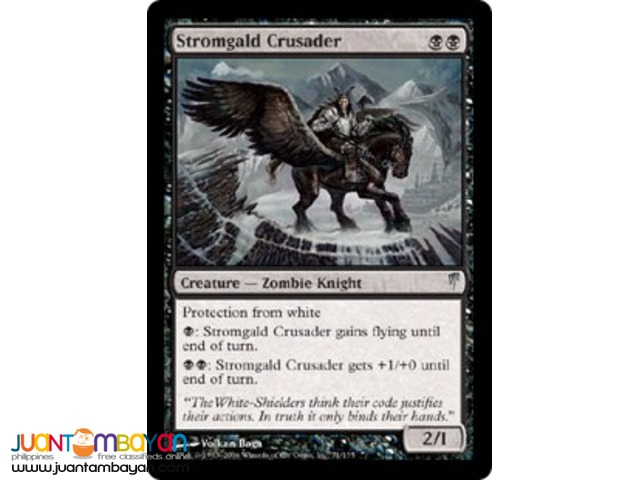 Stromgald Crusader (Magic the Gathering Trading Card Game)